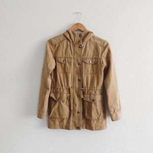 BP tan anorak jacket